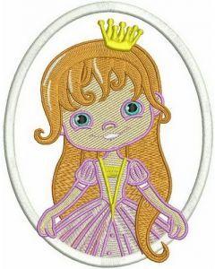 Princess 2 embroidery design
