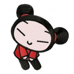 Pucca - Happy Together embroidery design