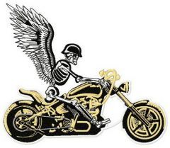 Road angel 5 embroidery design