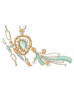 Romantic composition 3 embroidery design