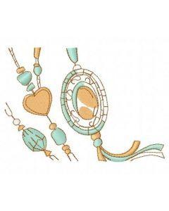 Romantic composition 5 embroidery design