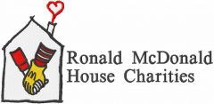 Ronald McDonald House Charities embroidery design