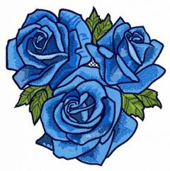 Rose bouquet 2 embroidery design