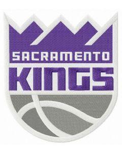 Sacramento Kings logo 2 embroidery design