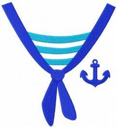 Sailor shirt free embroidery design