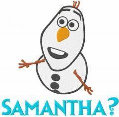 Samantha embroidery design 2