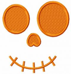 Scary smile 2 embroidery design
