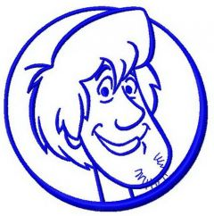 Shaggy Rogers machine embroidery design 2