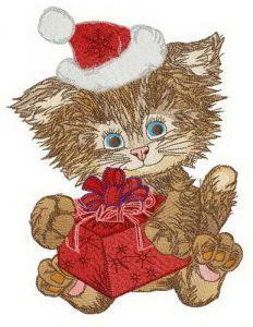 Shaggy Santa embroidery design
