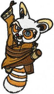 Shifu Attack embroidery design