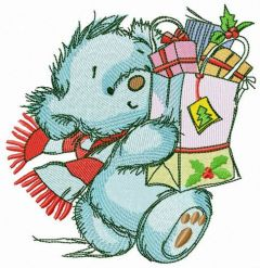 Shopping before Christmas 2 embroidery design