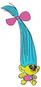 Smidge embroidery design