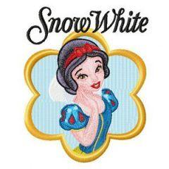 Snow White embroidery design