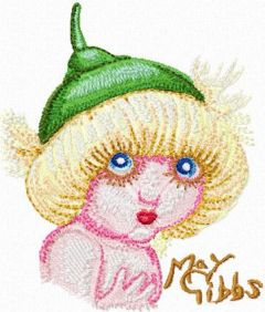 Snugglepot 1 embroidery design
