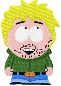 South park embroidery design 3
