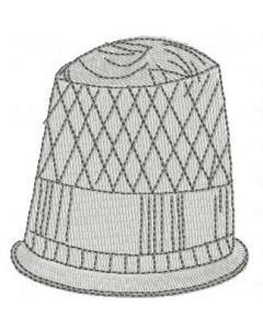 Spool embroidery design