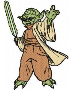 Star Wars Yoda 1 embroidery design