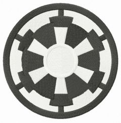 Star Wars Galactic Empire embroidery design