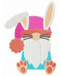 Strange Easter bunny embroidery design