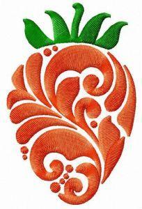 Strawberry 3 embroidery design