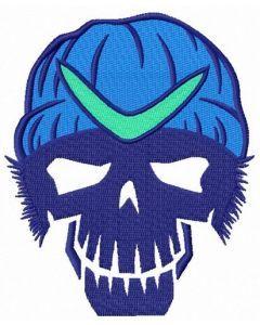 Suicide Squad Boomerang 2 embroidery design