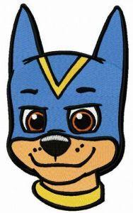 Super Chase muzzle embroidery design