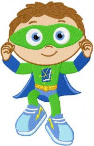 Super Why 2 embroidery design