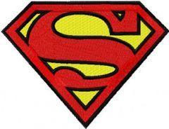 Superman Logo embroidery design