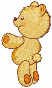 Take your teddy embroidery design