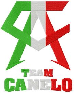 Team Canelo logo  embroidery design
