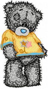 Teddy Bear like the new shirt embroidery design