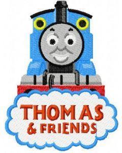 Thomas the Tank Engine 4 embroidery design