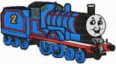 Thomas the Tank Engine 3 embroidery design