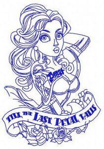 Till the last petal falls 3 machine embroidery design