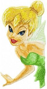 Tinkerbell 3 embroidery design