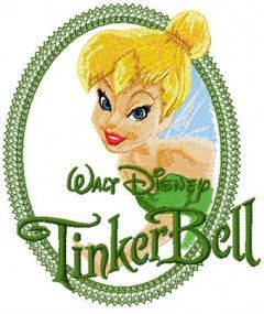 Tinkerbell Fairy embroidery design