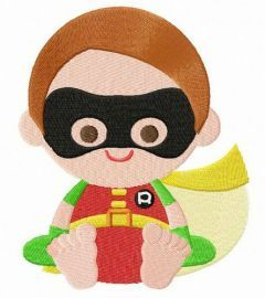 Toddler Robin embroidery design