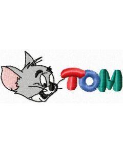 Tom 2 embroidery design
