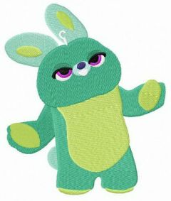 Toy Story 4 Bunny embroidery design