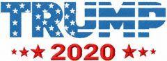 Trump 2020 embroidery design