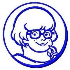 Velma 2 embroidery design