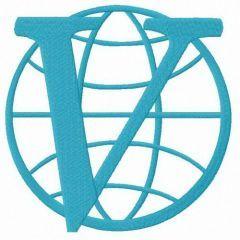 Venture Bros. logo embroidery design