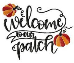 Welcome to our patch embroidery design