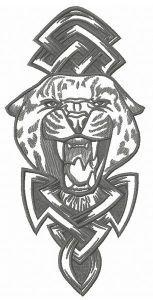 Wild cheetah 2 embroidery design