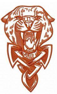 Wild cheetah 3 embroidery design