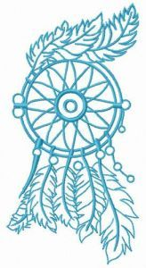 My windy dreams embroidery design