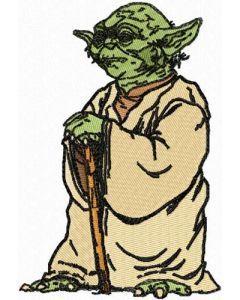 Star Wars Yoda 2 embroidery design