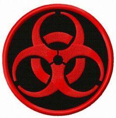 Zombie Outbreak Response Team alternative logo embroidery design