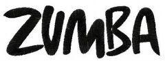 Zumba logo 3 embroidery design