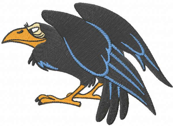 Evil Queen Raven embroidery design